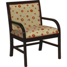 5044 Lounge Chair w/ Upholstered Seat & Back - Grade 1