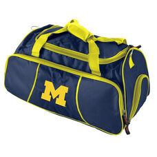University of Michigan Team Logo Athletic Duffel