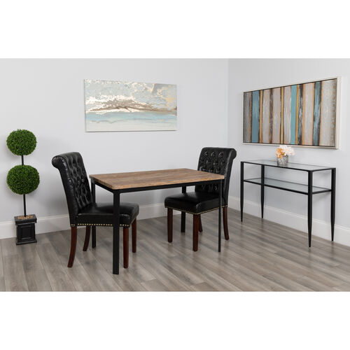 "Our Avalon 30"" x 45.75"" Rectangular Dining Table in Distressed Driftwood Finish is on sale now."