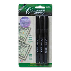 Dri Mark Products Counterfeit Detector Pens - Pack Of 3