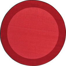Kid Essentials All Around Nylon Rug with SoftFlex Backing - Red - 91