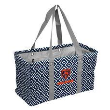 Chicago Bears Team Logo Double Diamond Picnic Carry All Caddy