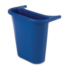 Rubbermaid Commercial Products Saddle Basket Recycling Side Bin - 10.5