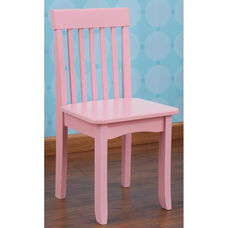 Avalon Classic Style Solid Wood Kids Chair - Pink
