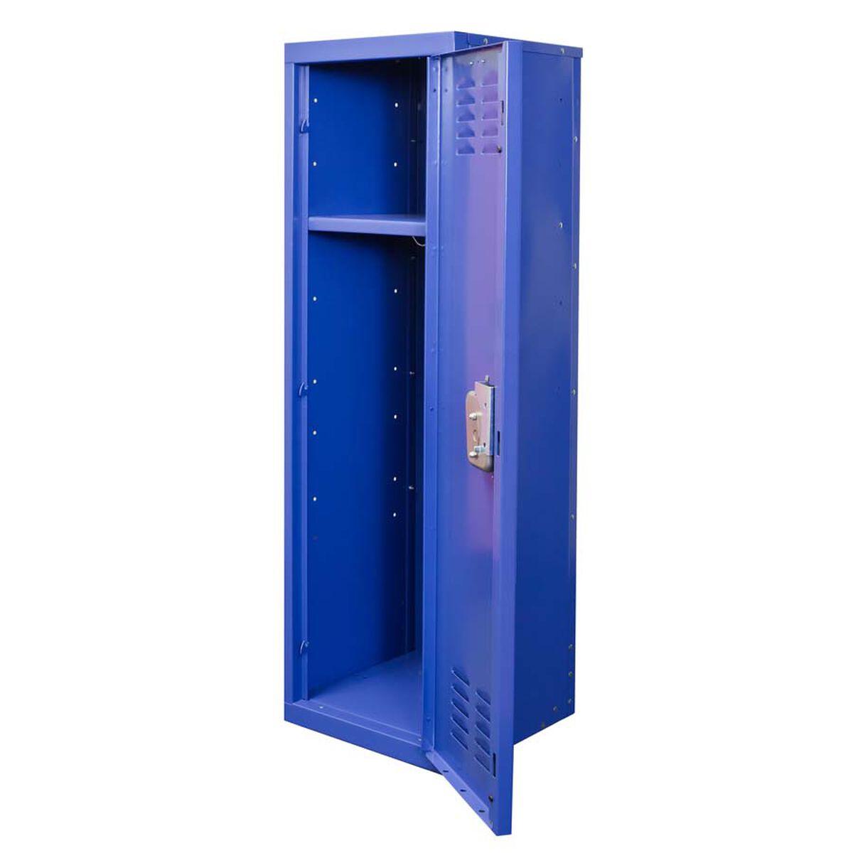Grand Slam Blue Kids Standard Locker Unassembled 15 W