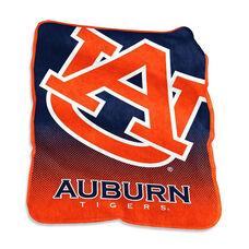 Auburn University Team Logo Raschel Throw