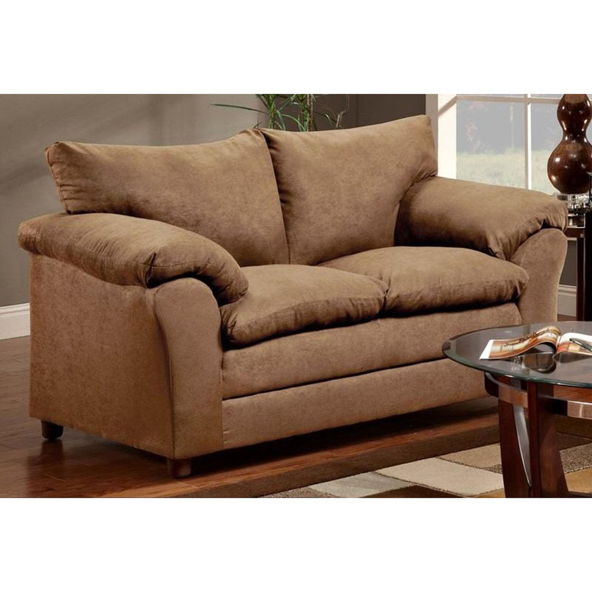 Chelsea home furniture gail transitional style polyester for Home furnishing sites