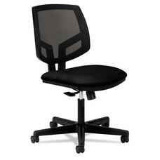 HON® Volt Series Mesh Back Task Chair - Black Fabric