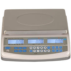 ABS Plastic NTEP Approved Price Computing Scale with Stainless Steel Top - 60 lb Capacity