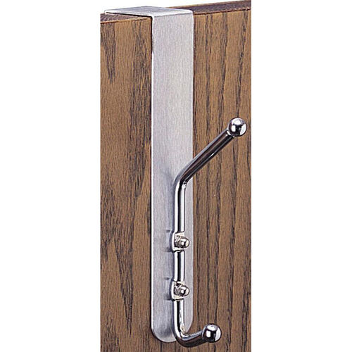 Over The Door Coat Hook - Set of Twelve - Silver