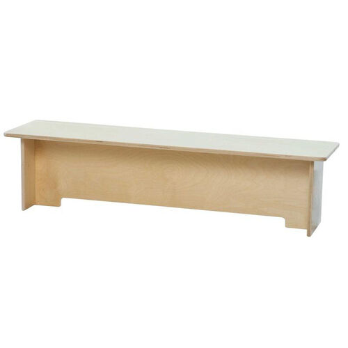 Our Toddler Healthy Kids Plywood Bench with Tuff-Gloss UV Finish - Assembled - 48
