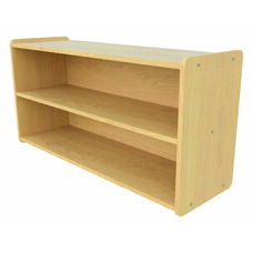 1000 Series 23.5''H Toddler Single Sided Open Storage Shelf Unit - Assembled