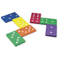Learning Resources Jumbo Foam Dominoes - 28 Pieces