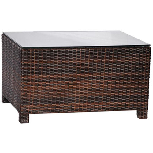 Our Outdoor Weave Series Coffee Table - Espresso is on sale now.