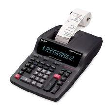 Casio Dr270Tm 12-Digit Color Print Calculator