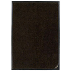 Solution Dyed Nylon Colorstar Plush Mat - Brown and Black
