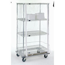 10 Gauge Clear Cart Cover - 24