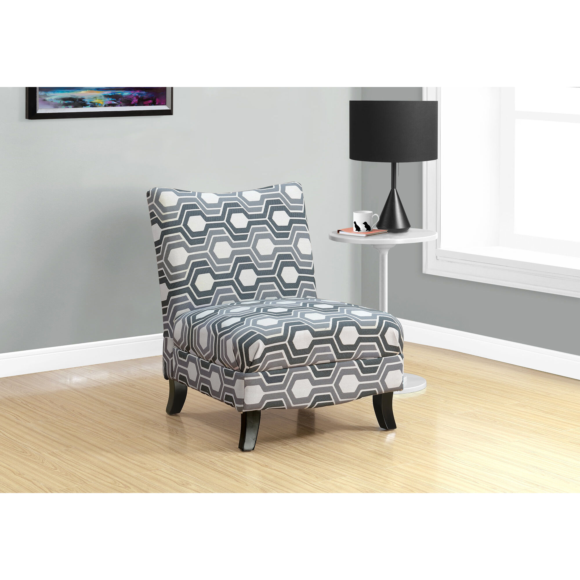... Our Fabric Accent Chair With Tapered Solid Wood Legs   Tan Swirl Is On  Sale Now ...