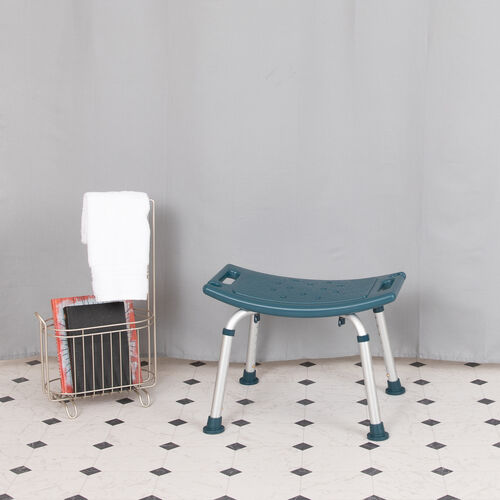 Our HERCULES Series Tool-Free and Quick Assembly, 300 Lb. Capacity, Adjustable Navy Bath & Shower Chair with Non-slip Feet is on sale now.