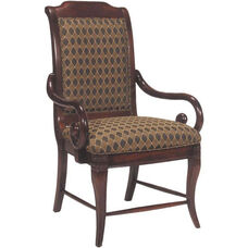 2510 Arm Chair w/ Upholstered Back & Seat - Grade 1