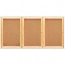 Quartet Cork Boards - 2 Door - 4