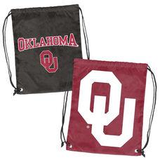 University of Oklahoma Team Logo Doubleheader Drawstring Backsack
