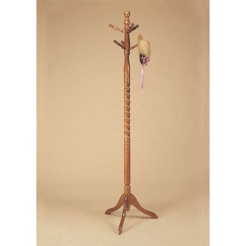 Our Twist Accented Coat Rack - Nostalgic Oak is on sale now.