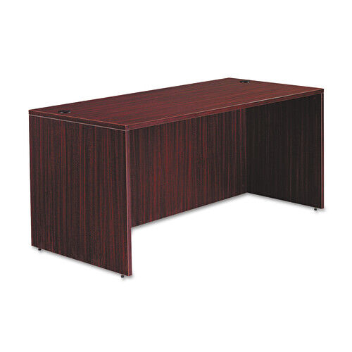 Our Alera® Valencia Series Straight Front Desk Shell - 65w x 29 1/2d x 29 1/2h - Mahogany is on sale now.