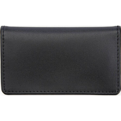 Our RFID Blocking Business Card Case - Top Grain Nappa Leather - Black is on sale now.