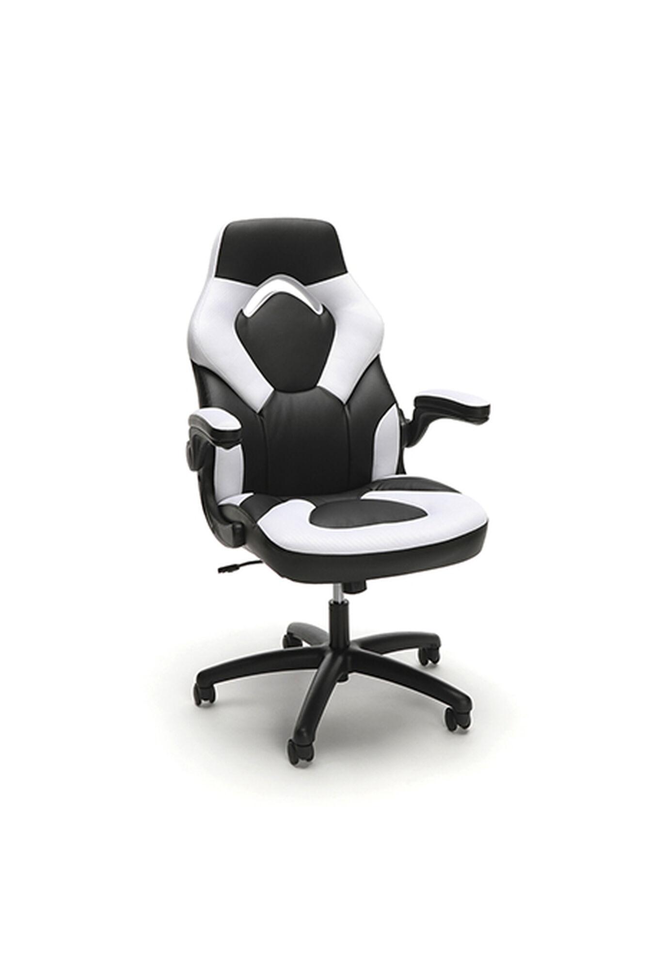 Leather Gaming Chair White Ess 3085 Wht Bizchair Com