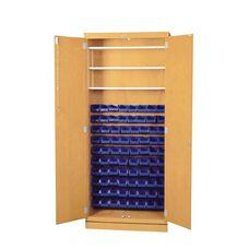 Parts Storage Cabinet with 80 Bins