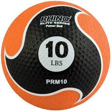 10 lbs. Rhino Elite Medicine Ball in Orange