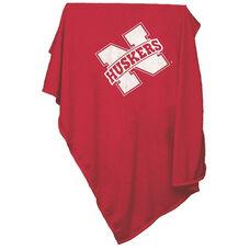 University of Nebraska Team Logo Sweatshirt Blanket