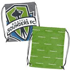 Seattle Sounders Team Logo Doubleheader Drawstring Backsack