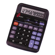 Skilcraft 12-Digit Dual Powered Desktop Calculator