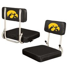 University of Iowa Team Logo Hard Back Stadium Seat