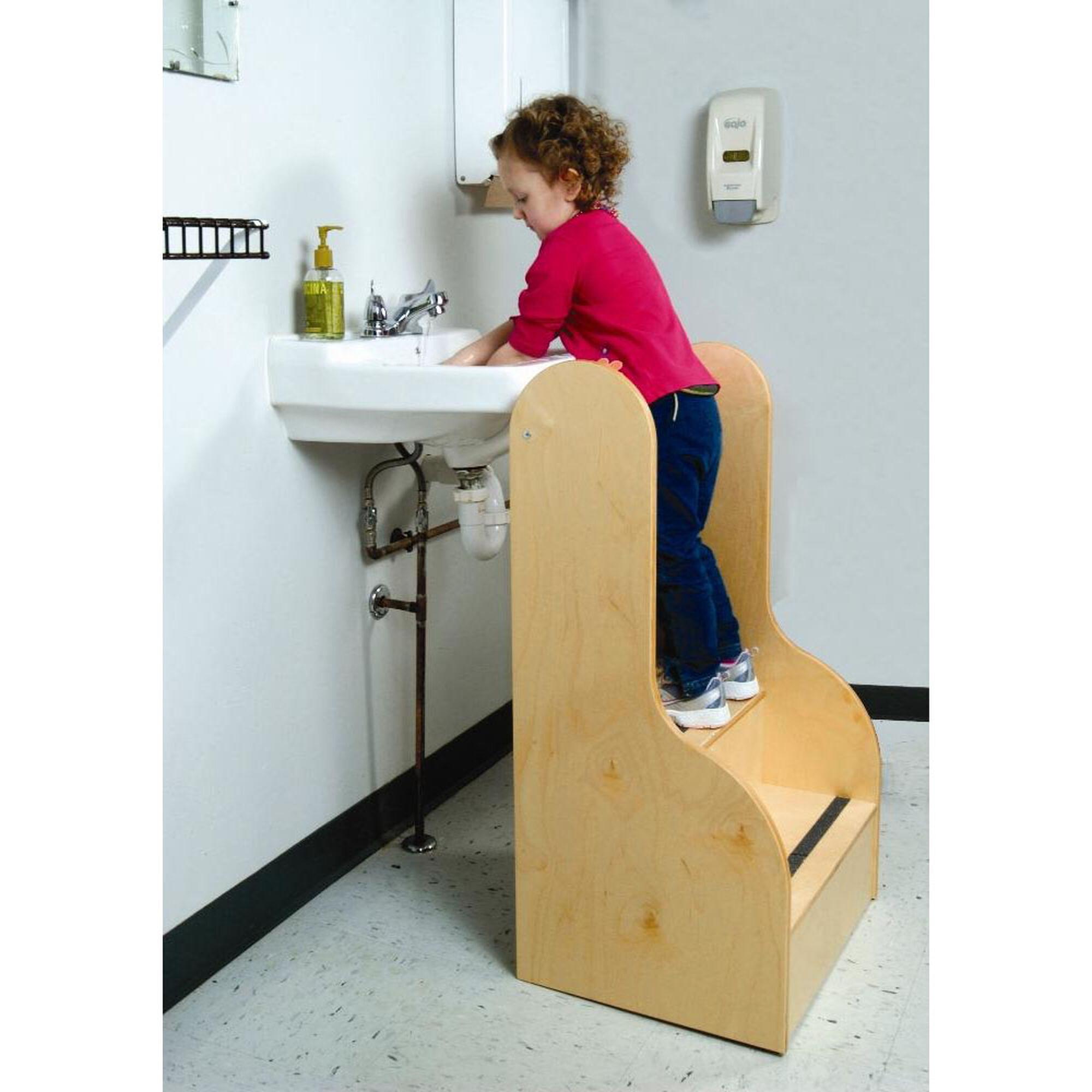 Kids Tall Step Stool And Sides Wb0088 Bizchair Com
