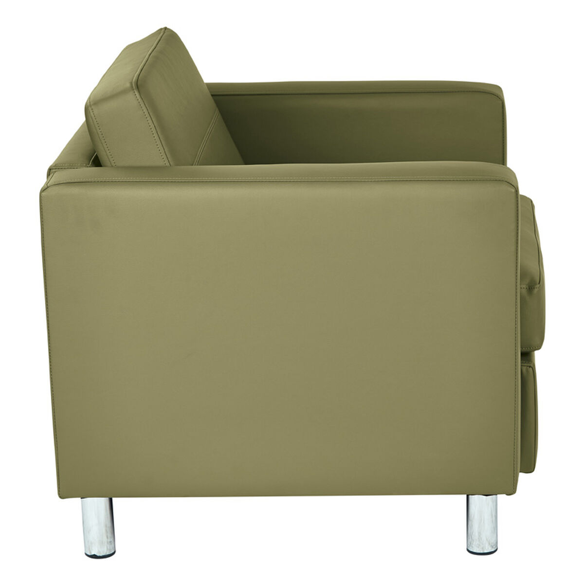 Ave Six Pacific Arm Chair In Dillon Anti Microbial Vinyl