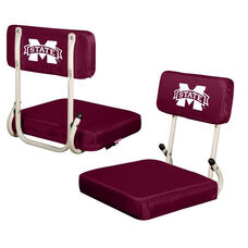 Mississippi State University Team Logo Hard Back Stadium Seat