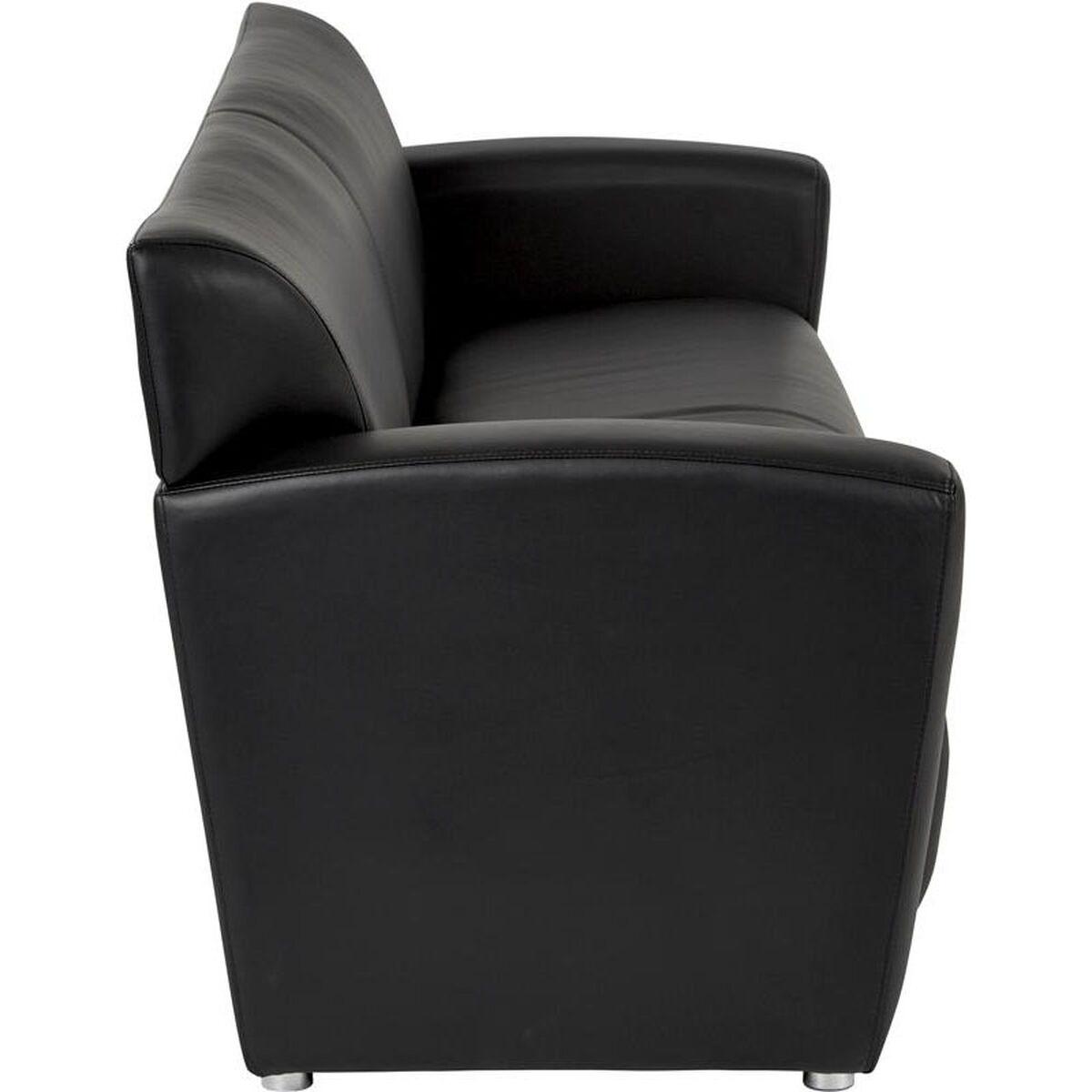 black faux leather sofa sl2913s u6 bizchair com