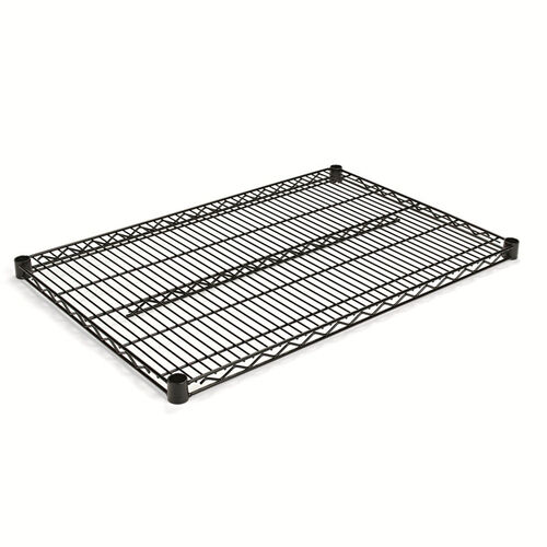 Our Alera® Industrial Wire Shelving Extra Wire Shelves - 36w x 18d - Silver - 2 Shelves/Carton is on sale now.