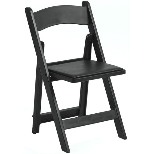 Our 1000 lb. Max Black Resin Folding Chair is on sale now.