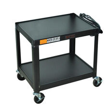 Fixed Height Utility & Audio Visual Cart - 26