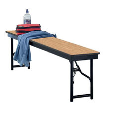 Particleboard Core Top Steel Frame Folding Bench- 12