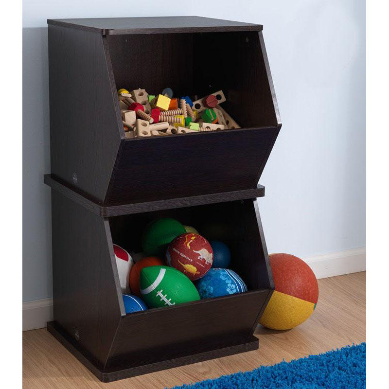 ... Our Kids Size Indoor Sturdy Open Single Storage Bin Cabinet - Espresso is on sale now & Espresso Open Storage Unit 14172 | Bizchair.com