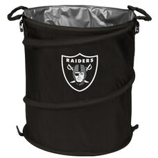 Oakland Raiders Team Logo Collapsible 3-in-1 Cooler Hamper Wastebasket