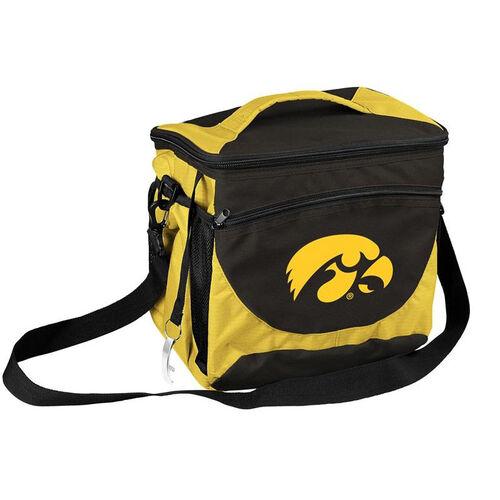 University of Iowa Team Logo 24 Can Cooler
