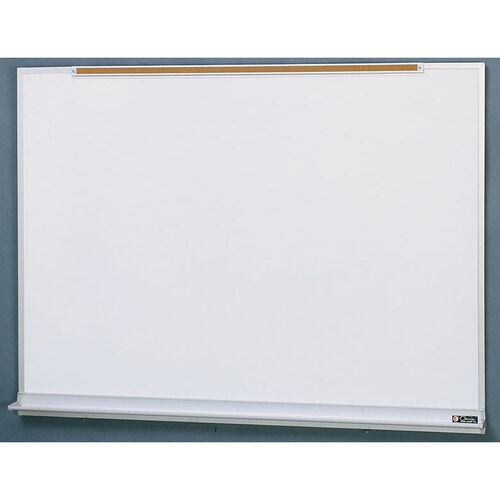 Our 800 Series Aluminum Frame Markerboard with Marker Tray and Map Rail - 96