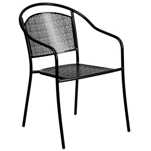 Our Indoor-Outdoor Steel Patio Arm Chair with Round Back is on sale now.