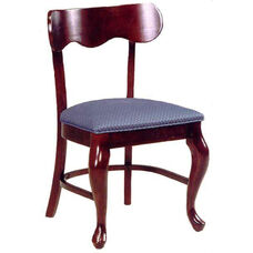 1911 Side Chair with Cabriole Legs and Upholstered Seat - Grade 1